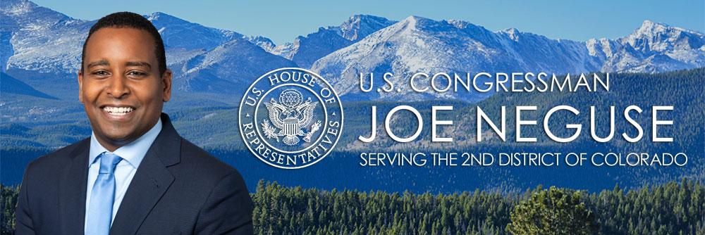 Representative Joe Neguse